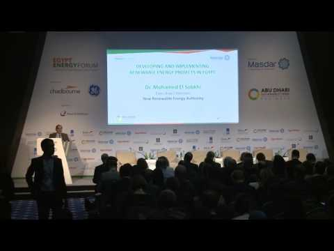 Egypt Energy Forum   Developing and Implementing Renewable E