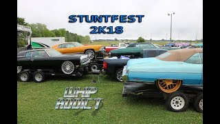 WhipAddict: Stuntfest 2K18 Car Show & Grudge Race, Big Rim Racing, Custom Cars, Donks