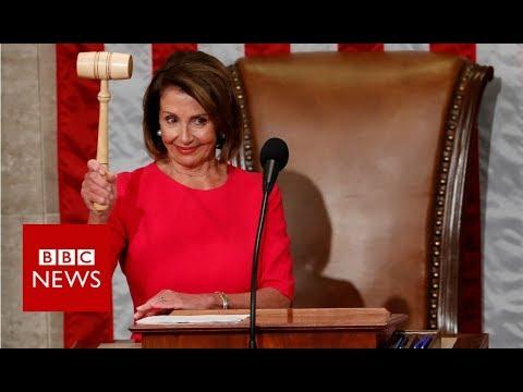 Pelosi quotes Reagan in Speaker remarks - BBC News
