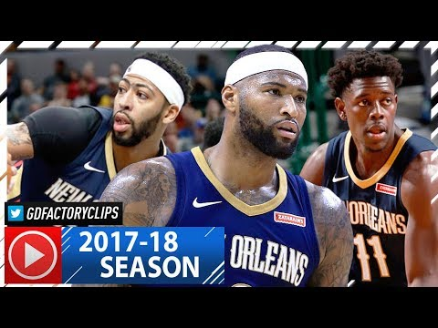 Jrue Holiday, Anthony Davis & DeMarcus Cousins Highlights vs Raptors (2017.11.09) - 72 Pts!
