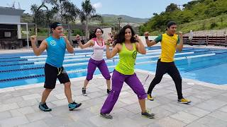 "Zumba ""Menea la Pera"" by Honduras Dance Crew"