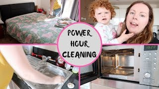 POWER HOUR 2018 || STAY AT HOME MOM || APARTMENT CLEANING