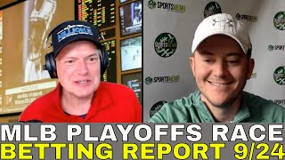 MLB Picks and Predictions | MLB Playoffs Race and Outlook | Playoff Matchups & Free Picks 9/24