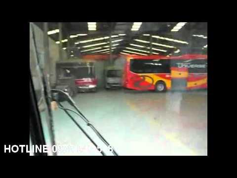 Xe Khách Hyundai Universe Noble Giường Nằm 3 cục Tracomeco