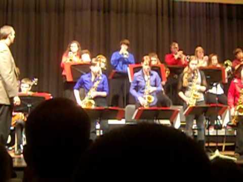 Moanin' - Night of Jazz February 28, 2014 Newton Senior High School Jazz Ensemble