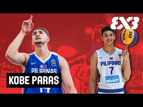 Kobe Paras - The Golden Boy of the Philippines - Mixtape Monday - FIBA 3x3