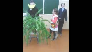 """Урок литературного чтения 4 класс (фрагмент). Инсценирование басни """"Ворона и Лисица"""""""
