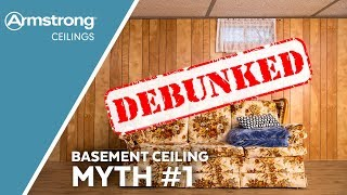 Basement Ceiling Myths Busted | Myth One - Ugly Ceilings | Armstrong Ceilings for the Home