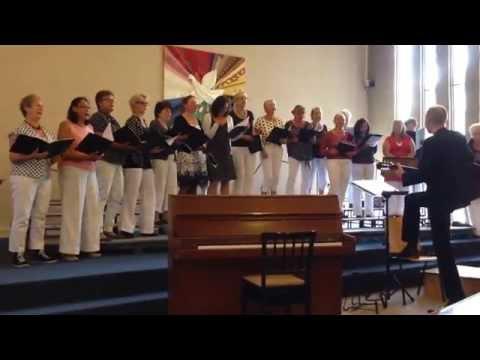 Schellingwoude dames koor onder leiding van Ricus Smid,De Colores