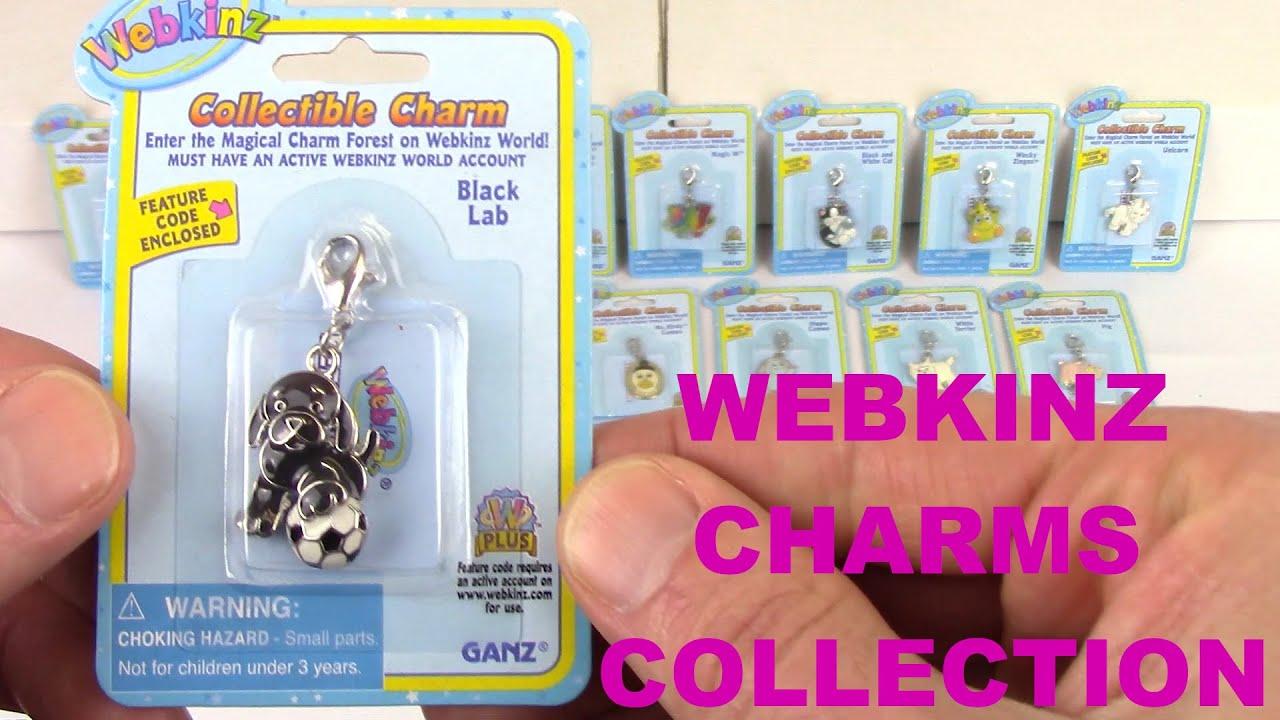 NEW WITH UNUSED CODE Ganz Webkinz Plumpy Cameo CHARM