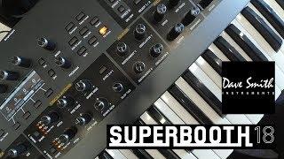 Sequential Prophet X - гибридный синтезатор  (Superbooth18)