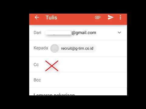 Cara Mengirim Lamaran Kerja Melalui Gmail Yang Benar-Via HP