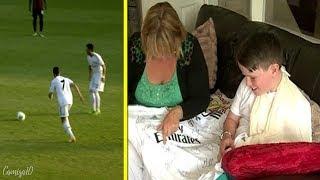 O dia que Cristiano Ronaldo quebrou o Pulso de um Fã