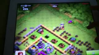 Clash of Clans:He wasted so many troops
