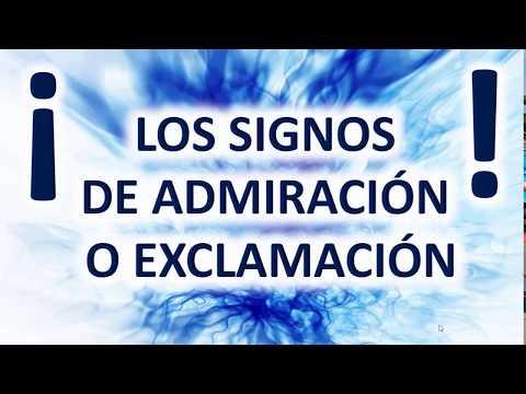 Los Signos De Admiración O Exclamación Signos De