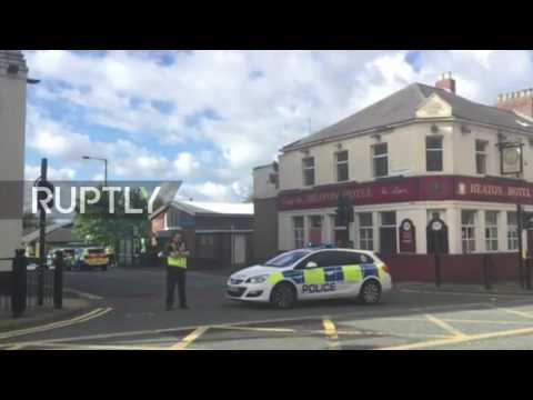 UK: Knifeman takes job-centre staff hostage in Newcastle
