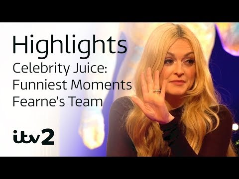 Funniest Moments: Fearne's Team | Celebrity Juice | Season 18 | ITV2