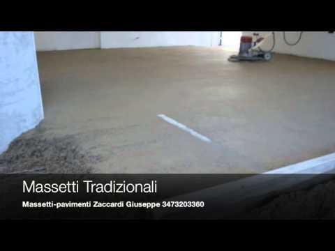 Massetto tradizionale sabbia e cemento impresa edile - Massetto sabbia cemento proporzioni ...