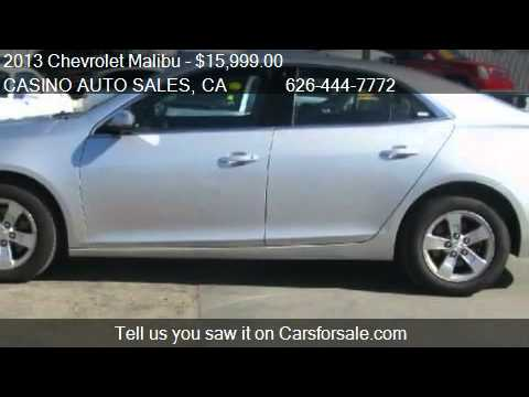 2013 Chevrolet Malibu LT 4dr Sedan w/1LT for sale in La Puen