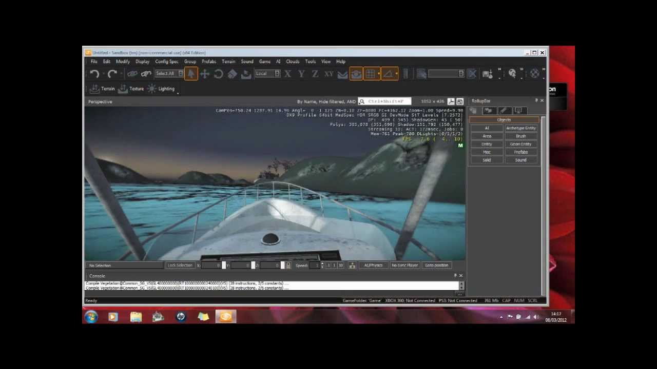 Free software download free game engine Cryengine 3 - My 1st creation (7)