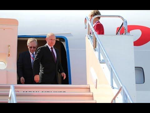 Путин прибыл в Оренбургскую область