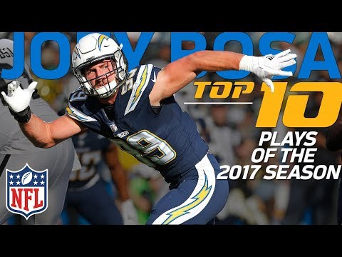 Joey Bosa's Top 10 Plays from the 2017 NFL Season | NFL Highlights