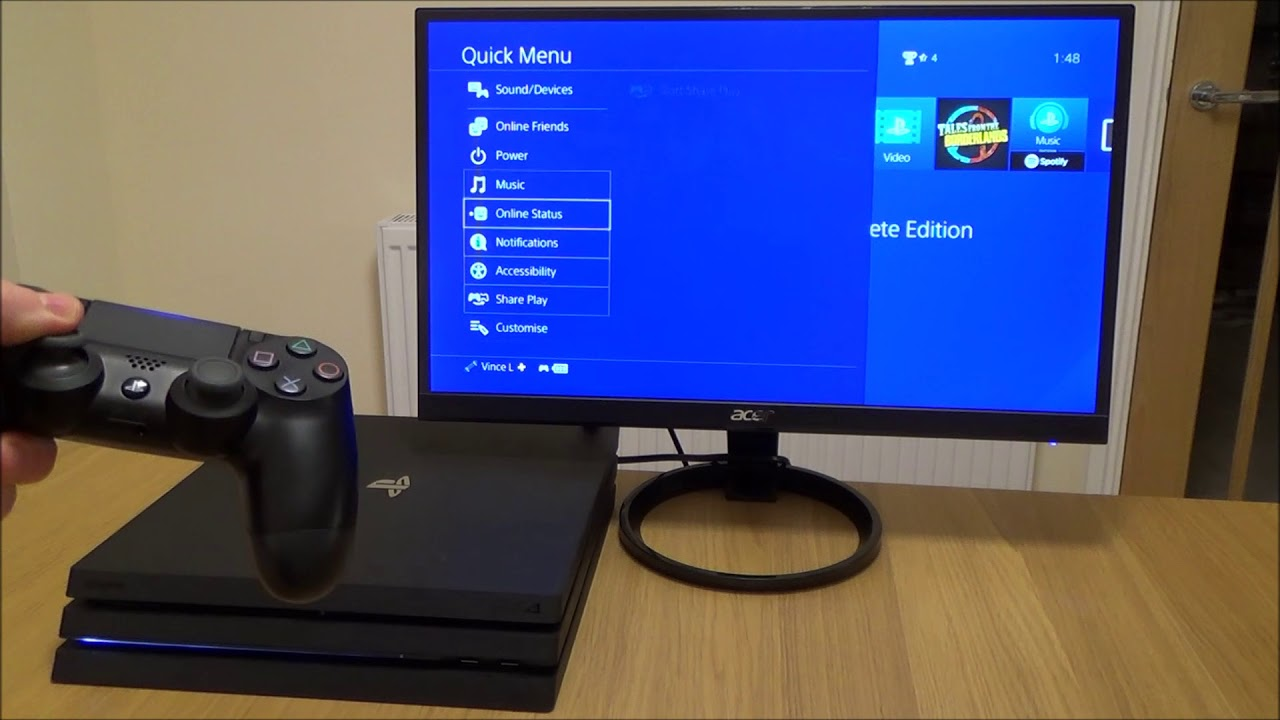 How to Access & Customise the Quick Menu on PS4 (60)