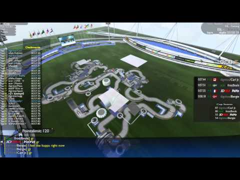 EMS - Grand Final | Carl Jr. vs. FrostBeule vs. YoYo vs. Bergie [Trackmania]