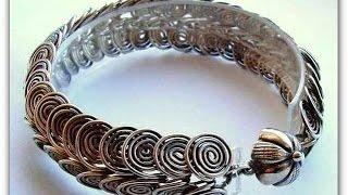 Оригинальные украшения из проволоки - браслеты своими руками