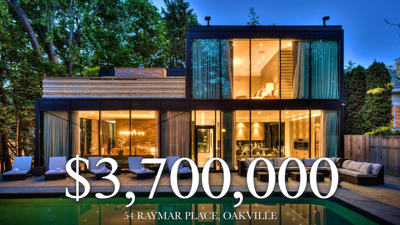3 888 800 The Glass House 54 Raymar Place Oakville