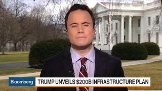 Trump Unveils a $200 Billion Infrastructure Plan