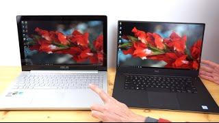 Dell XPS 15 Infinity vs  Asus Zenbook Pro UX501 Comparison Smackdown