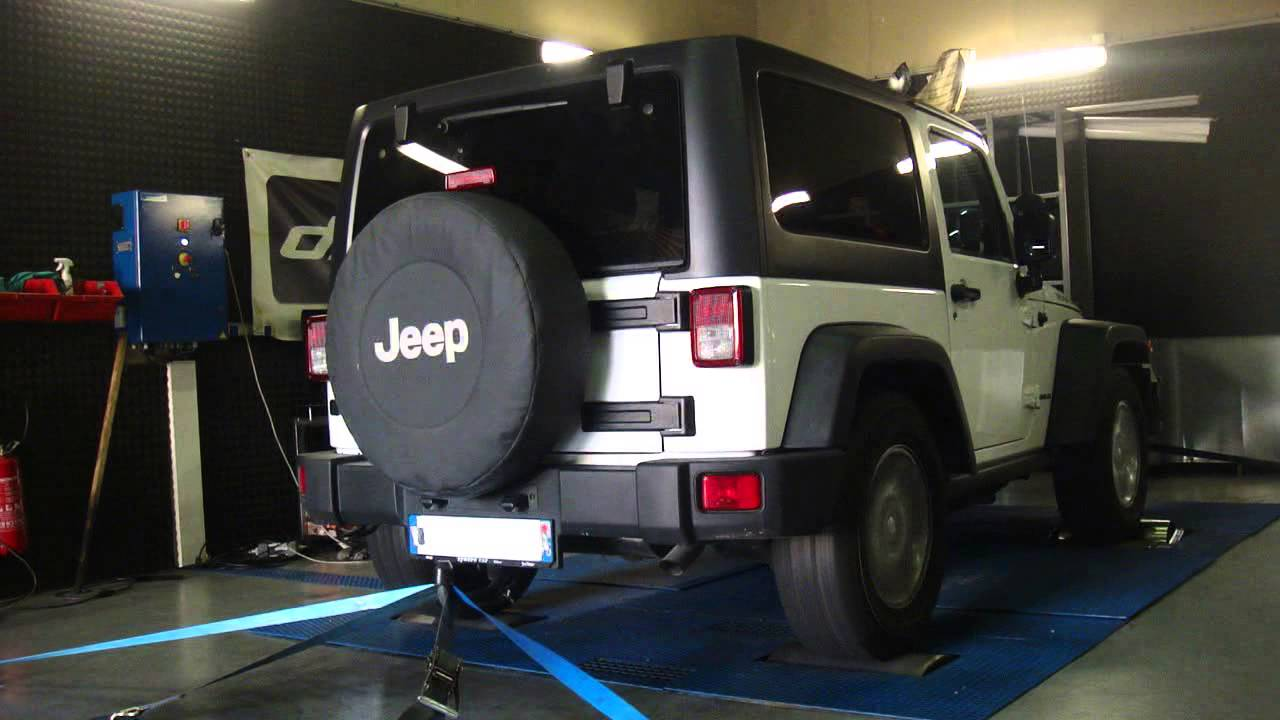Reprogrammation Moteur Jeep Wrangler Crd 200cv At 230cv Dyno Digiservices Paris