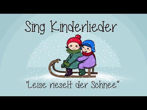 Leise rieselt der Schnee - Weihnachtslieder zum Mitsingen | Sing Kinderlieder