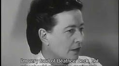 Interview with Simone de Beauvoir (1959)