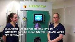CLEANiRad Exeprience - Länsi-Pohja healthcare district