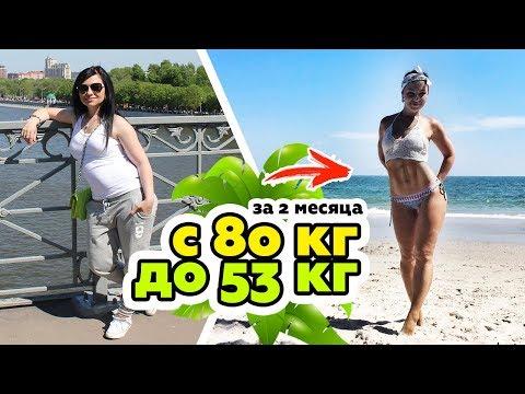 Похудела на 25 кг без голодовки и фитнеса после родов.