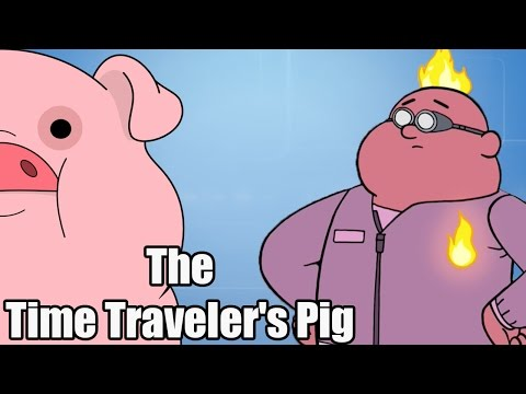 LaDix Reacts: Gravity Falls S01E09 | The Time Traveler's Pig