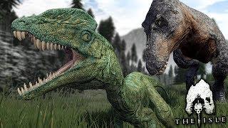 The Baby Dilophosaurus! - Life of the Dilo | The isle