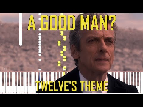 A Good Man? (Twelve's Theme) - Doctor Who [Synthesia Tutorial for Two Pianos]