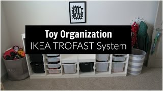 Toy Organization: IKEA Trofast System