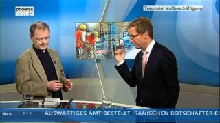 Prof Christoph Butterwegge äußert sich engagiert über den neoliberalen Arbeitsmarkt