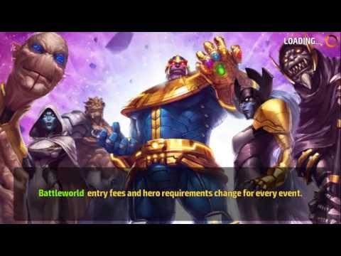 MARVEL Future Fight:Sharon Rogers vs Thanos