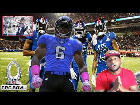 How I Played the 2017 Pro Bowl in my Madden 17 Career Mode Series