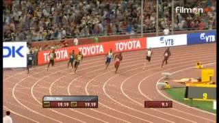 Usain Bolt wins 19.56 Men's 200m Final IAAF World Championship Beijing-2015