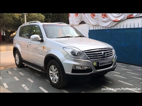 Ssangyong Rexton W RX7 by Mahindra 2017 | Real-life review