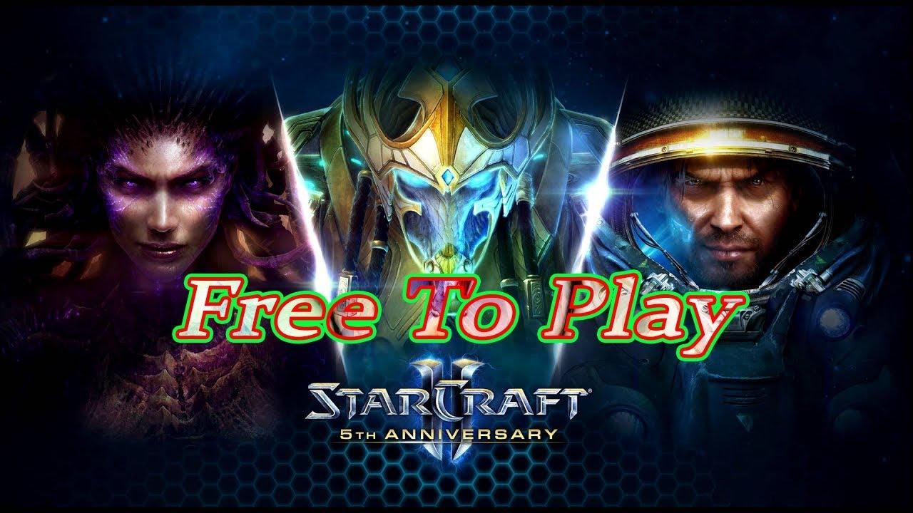 Hướng dẫn tải game StarCraft 2 hoàn toàn Miễn Phí – PcCrackGaming