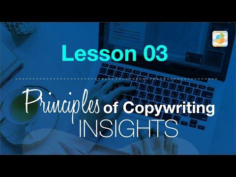 Copywriting Courses Free Online: Lesson 03