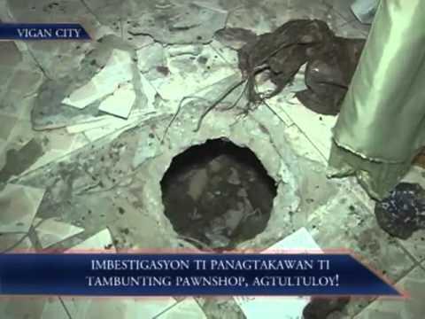 Imbestigasyon Ti Panagtakawan Ti Tambunting Pawnshop, Agtultuloy!