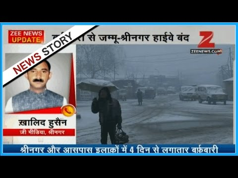 Jammu-Kashmir highway shuts after heavy snowfall